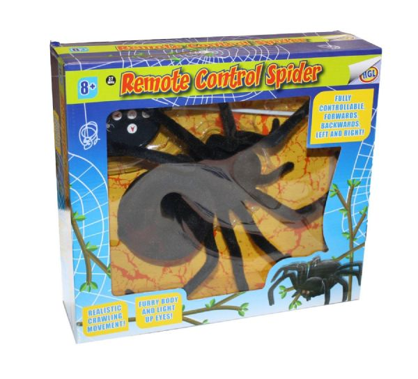 HGL Remote Controlled Tarantula Spider for Creep Crawly Toys, Gifts & Gadgets
